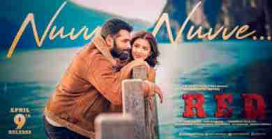 Nuvve Nuvve Song Lyrics In Telugu Red Tollywood new movie